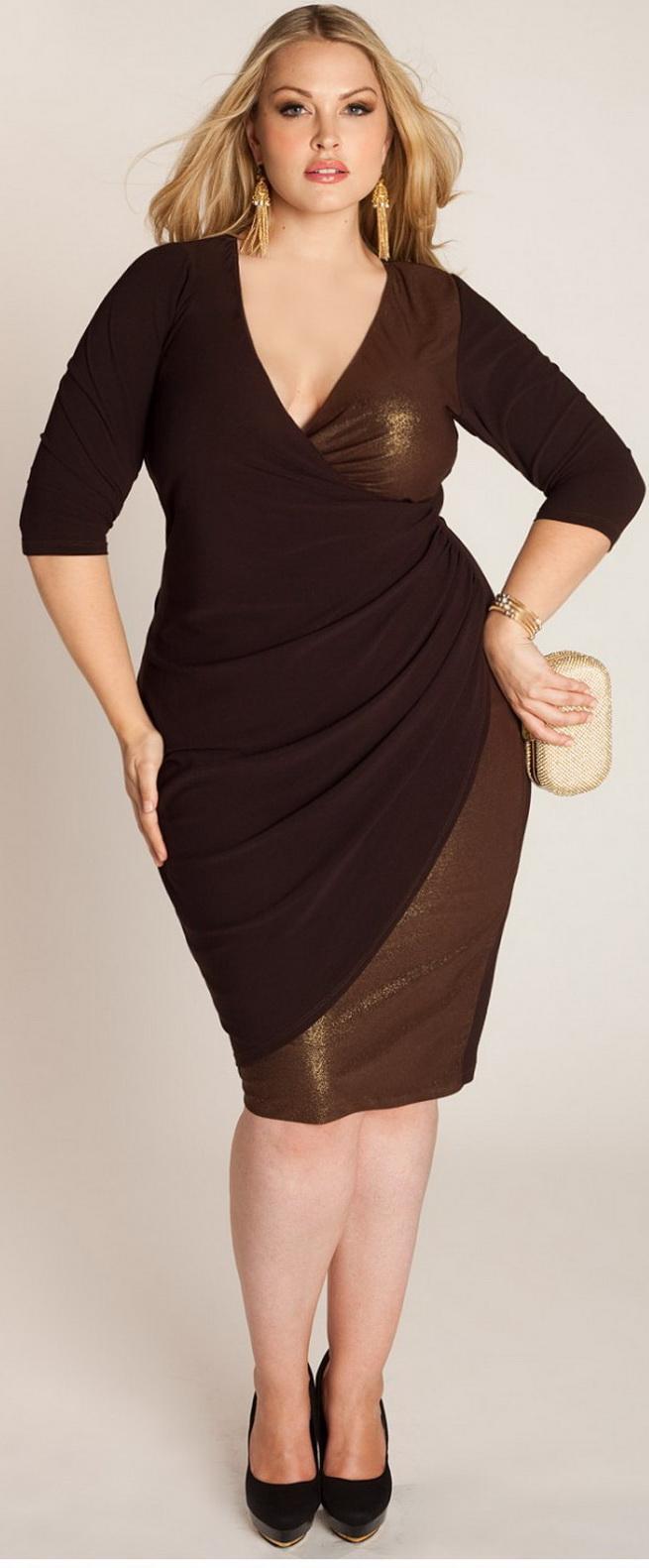 Plus size fashion wear