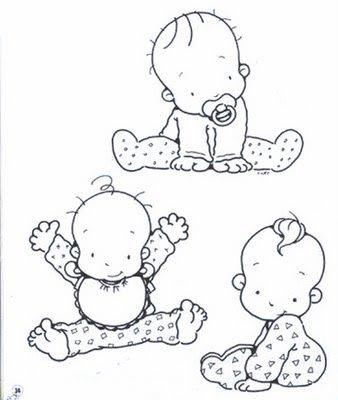 bauzinho da web baÚ da web desenhos de bebê para pintar colorir