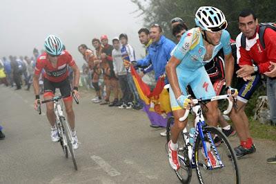 Strijd op de Angliru (Vuelta 2013)