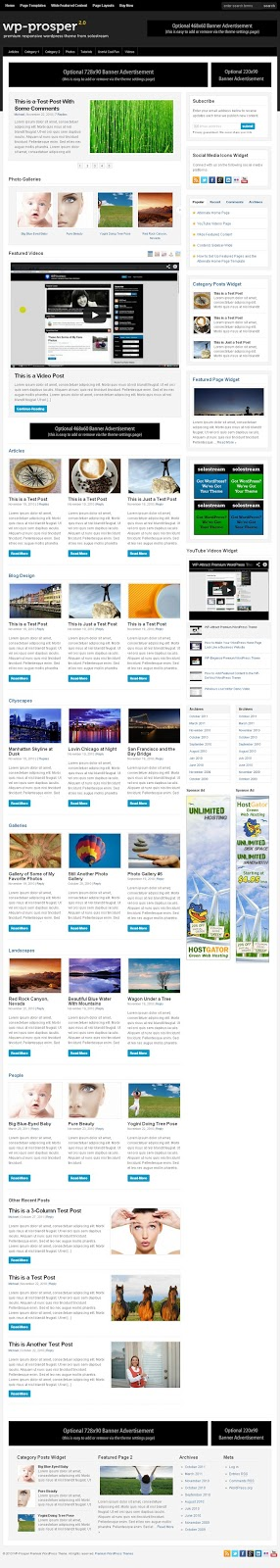 WP Prosper Premium WordPress Theme