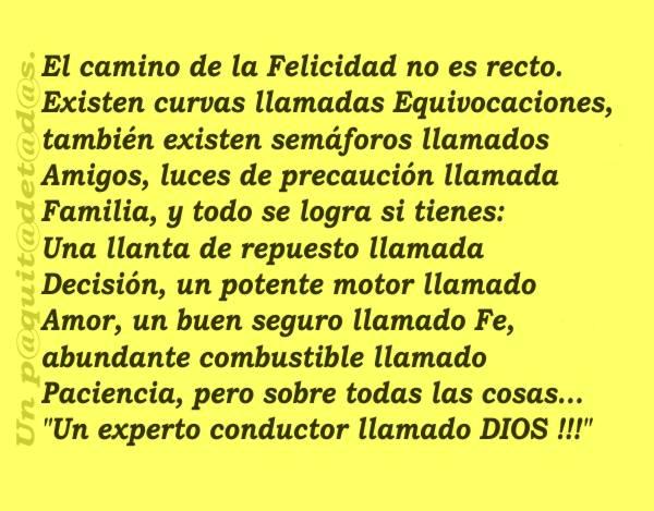 Pin 1851220322 N 600x469 El Camino De La Felicidad