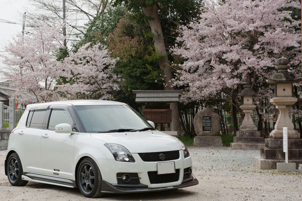 Suzuki Swift Sport with Sakura