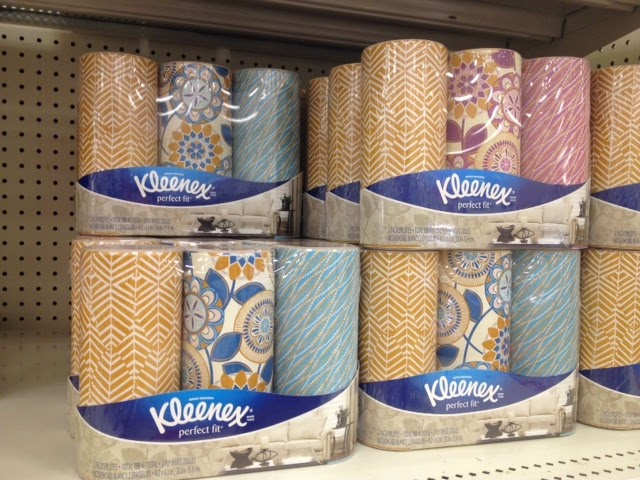 Kleenex Perfect Fit, Kleenex patterns