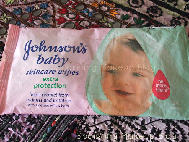 Baby wipes, makeup removing wipes, makeup cleanser
