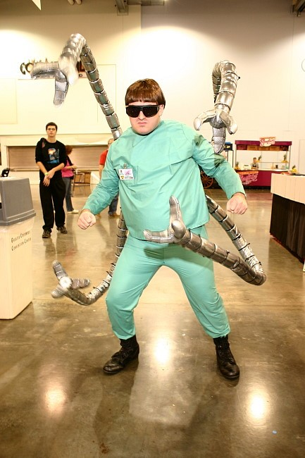 Doctor octopus cosplay