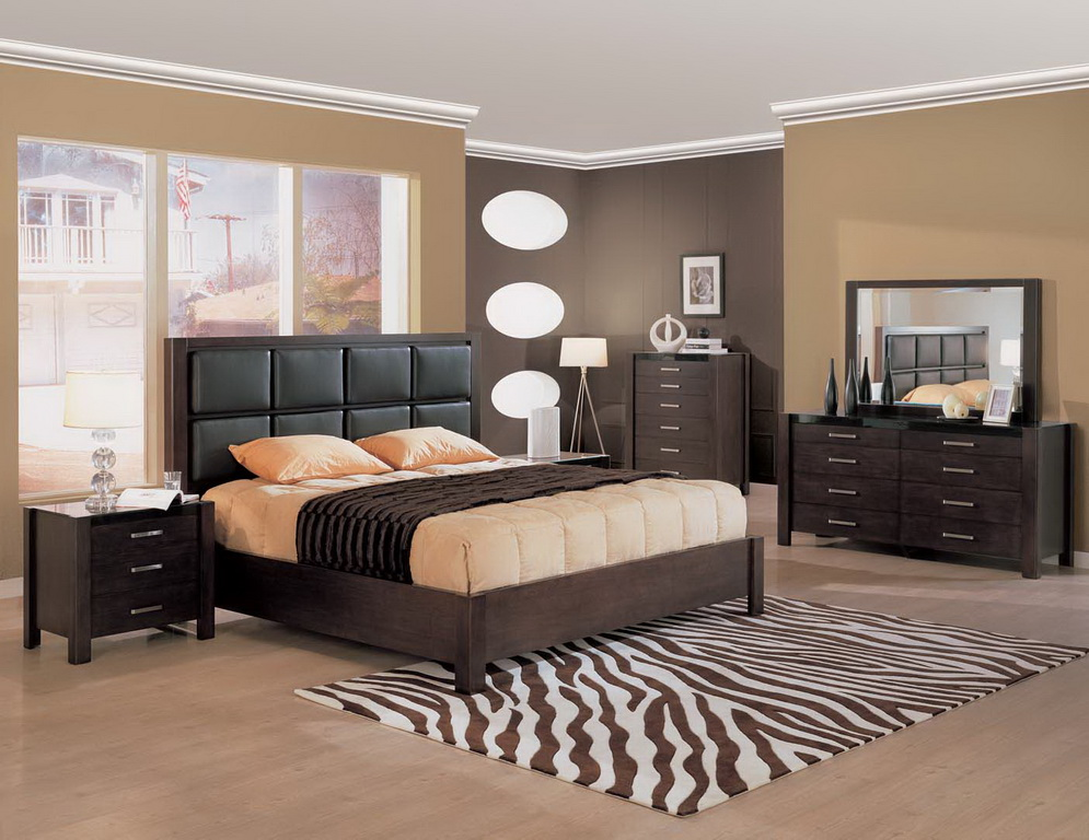 Bedroom Paint Color Ideas with Brown Furniture
