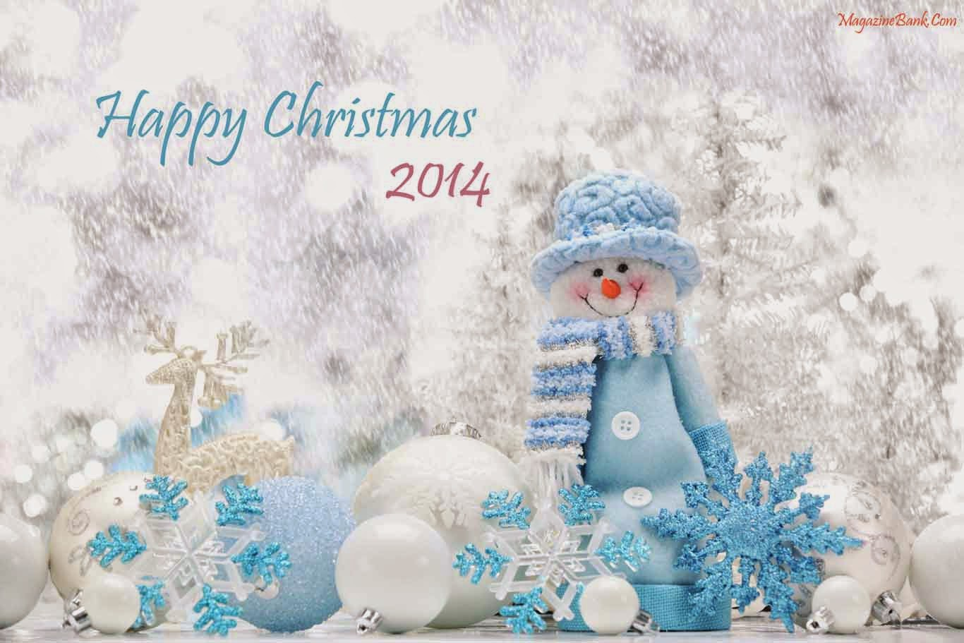 Happy Merry Christmas 2014 HD Wallpapers