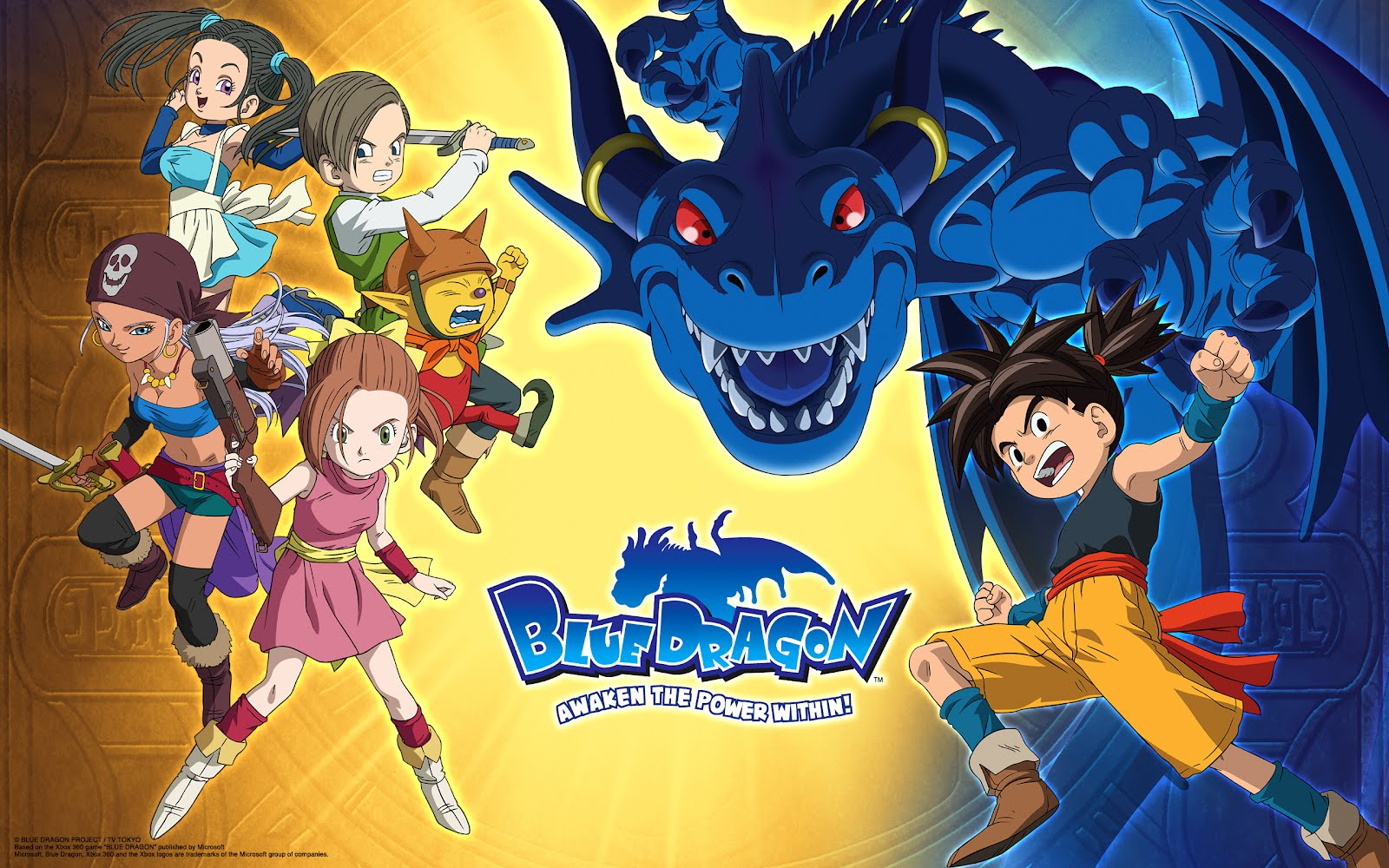 Blue%2BDragon AnimesFOX br Blue Dragon Dublado Episódios