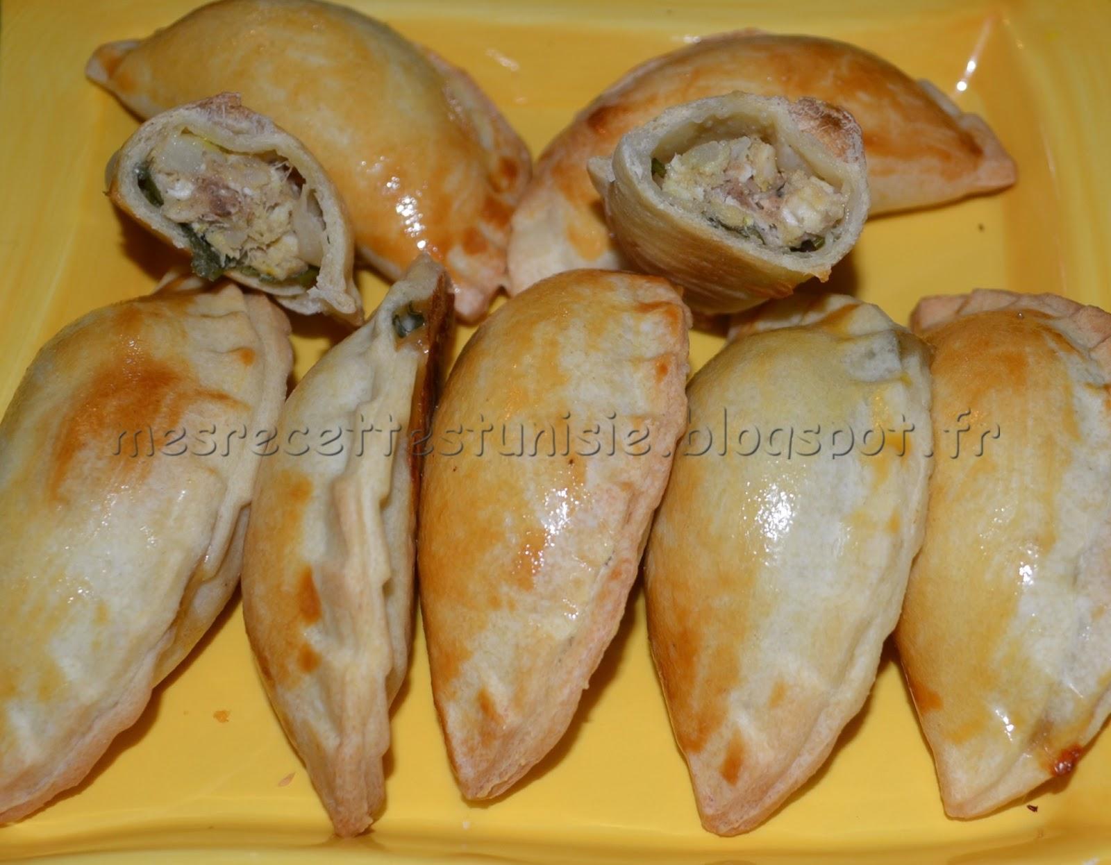 recettes tunisiennes jiji brick danouni au four