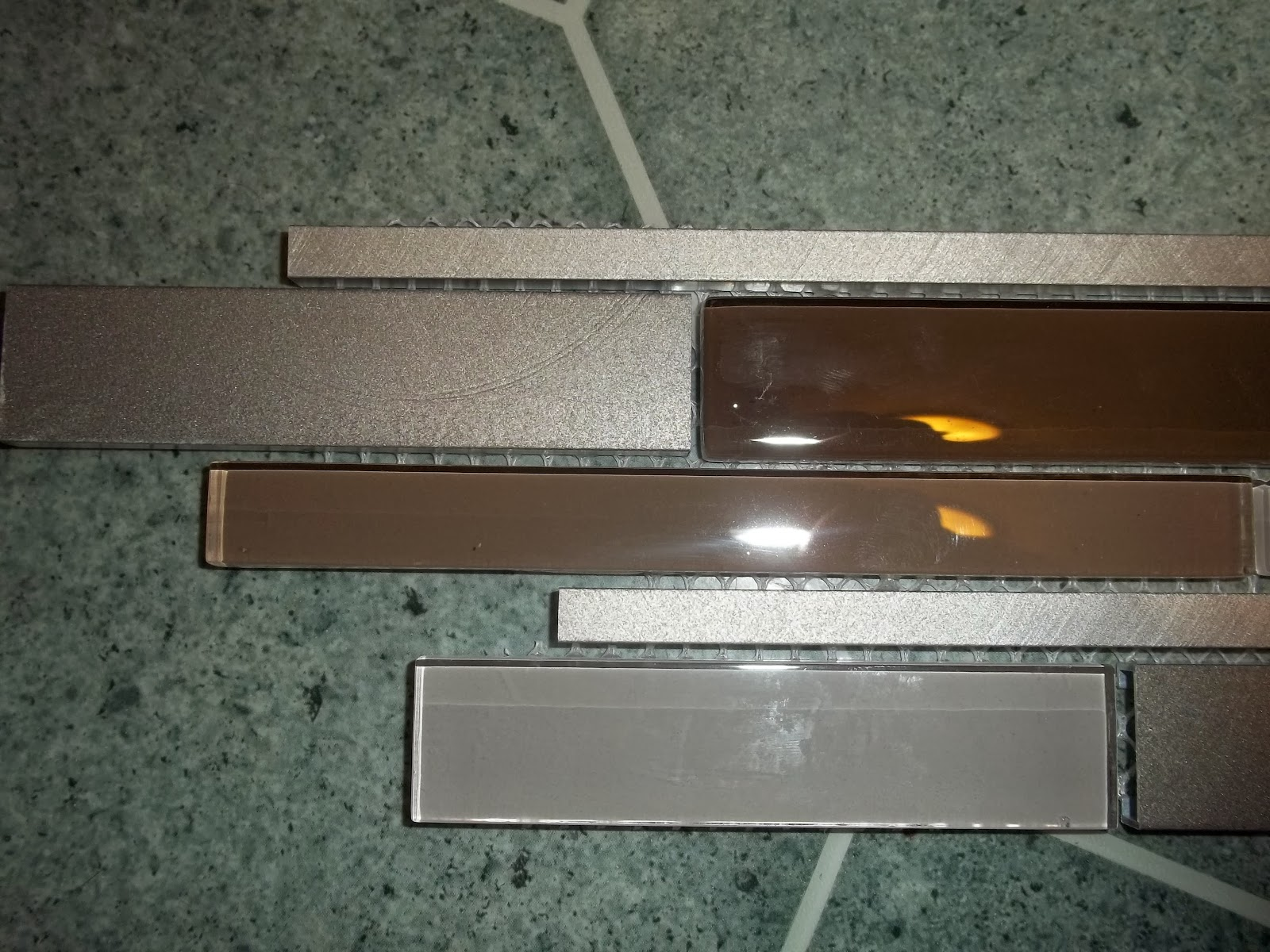 Glass And Metal Mosaic Tile Recommended To Use Unsanded Grout To Prevent  Scratching. If Hand Grouted Carefully Sanded Grout Can Be Used For Strength