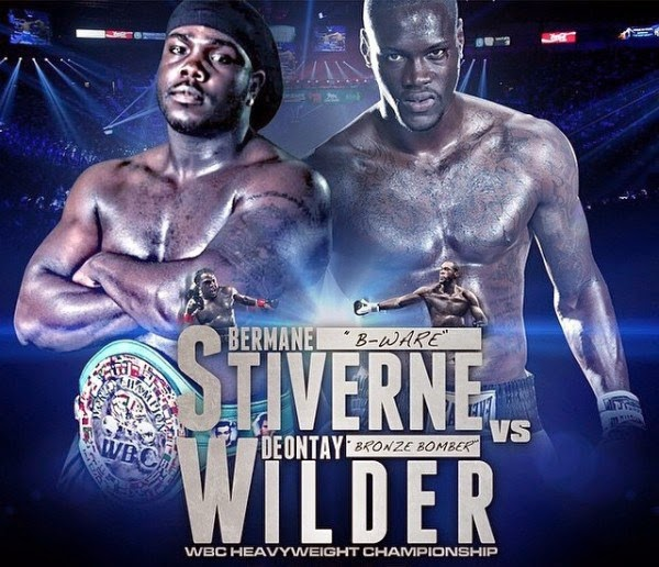 Wilder vs Stiverne live