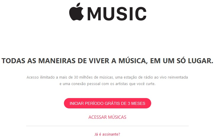 Assinatura do Apple Music