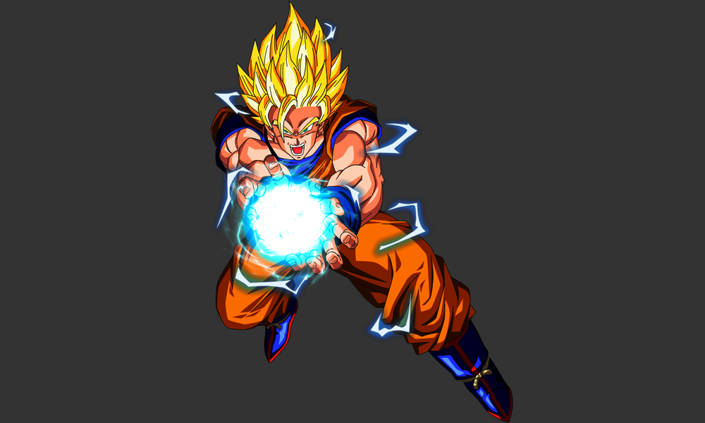 Goku ssj2 kamehameha