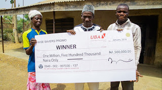N1.5 million just like that? UBA Wise Savers Promo