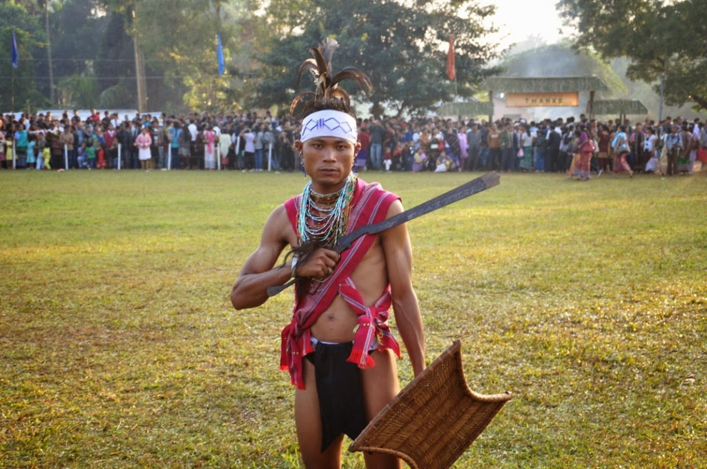 Wangala festival, Garo Hills, dance of Meghalaya
