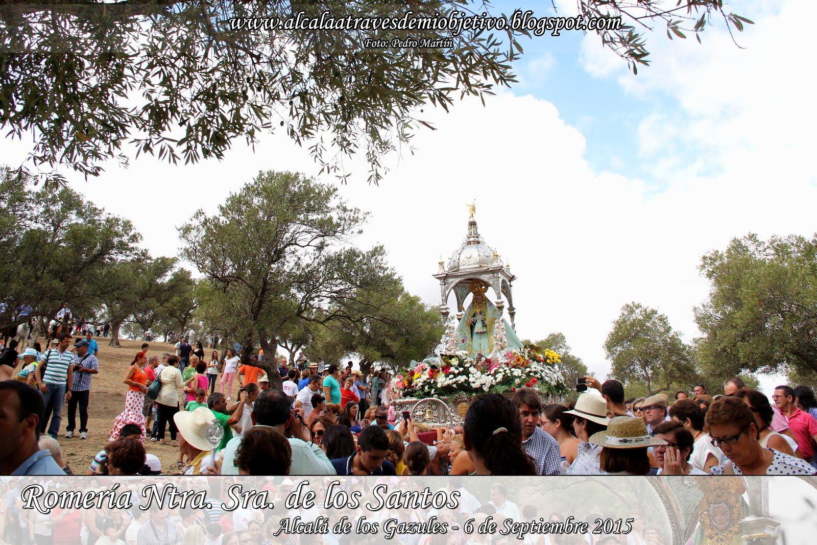 Romería Ntra. Sra. de los Santos (6 septiembre 2015)