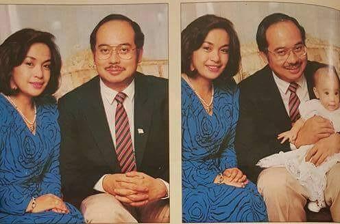 Wajah Najib Dan Rosmah Masa Muda