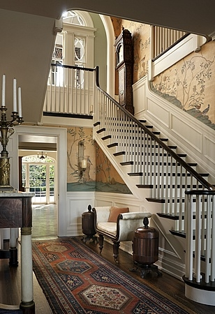 New Home Interior Design Georgian Revival Addition Lexington Kentucky