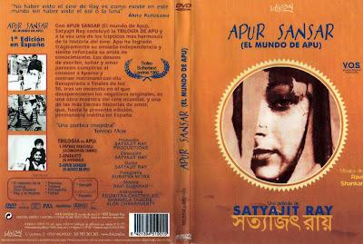 Apur Sansar (El mundo de Apu) [1959] | caratula | Cine oriental clásico
