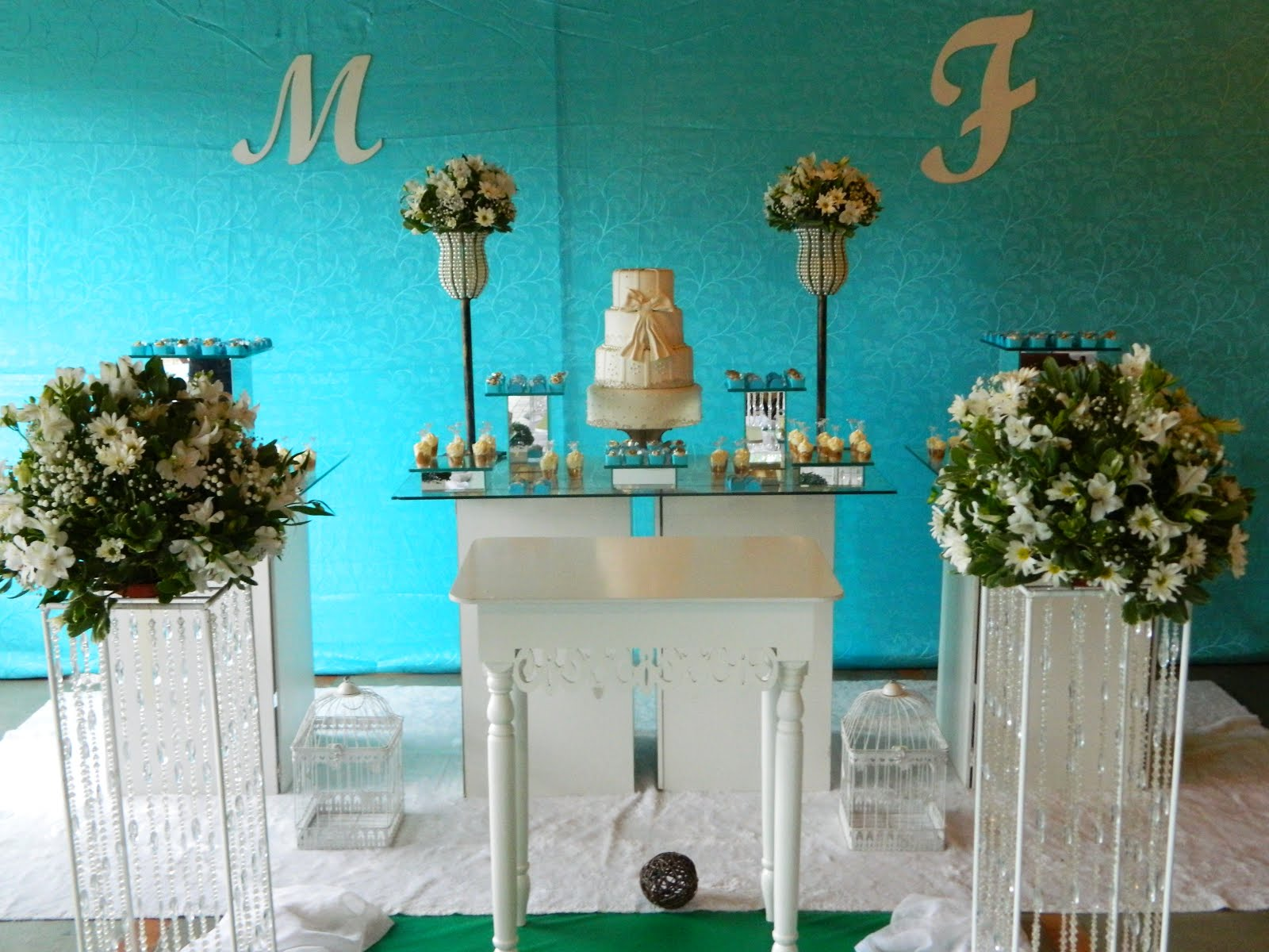 Casamento Tiffany e Branco