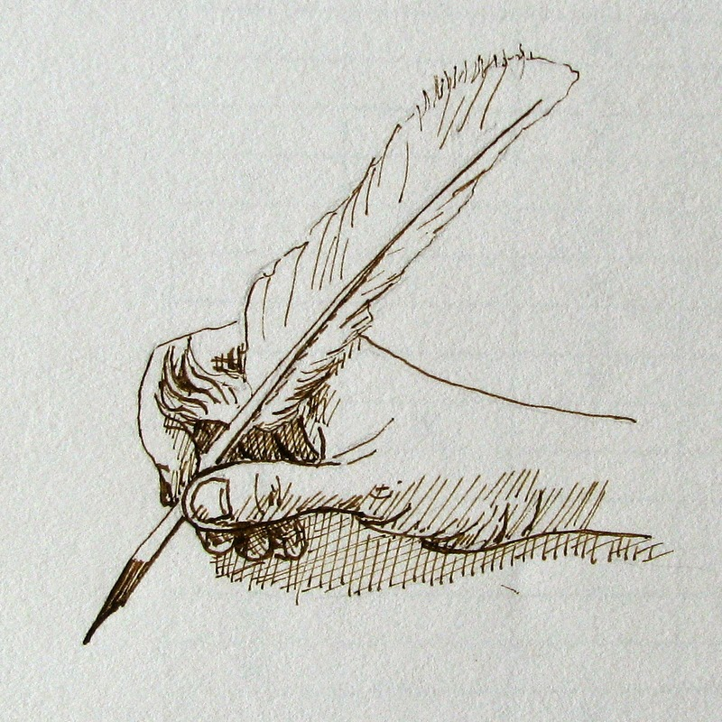 Hand Holding Fork Drawing Drawing Hands Holding Pens And