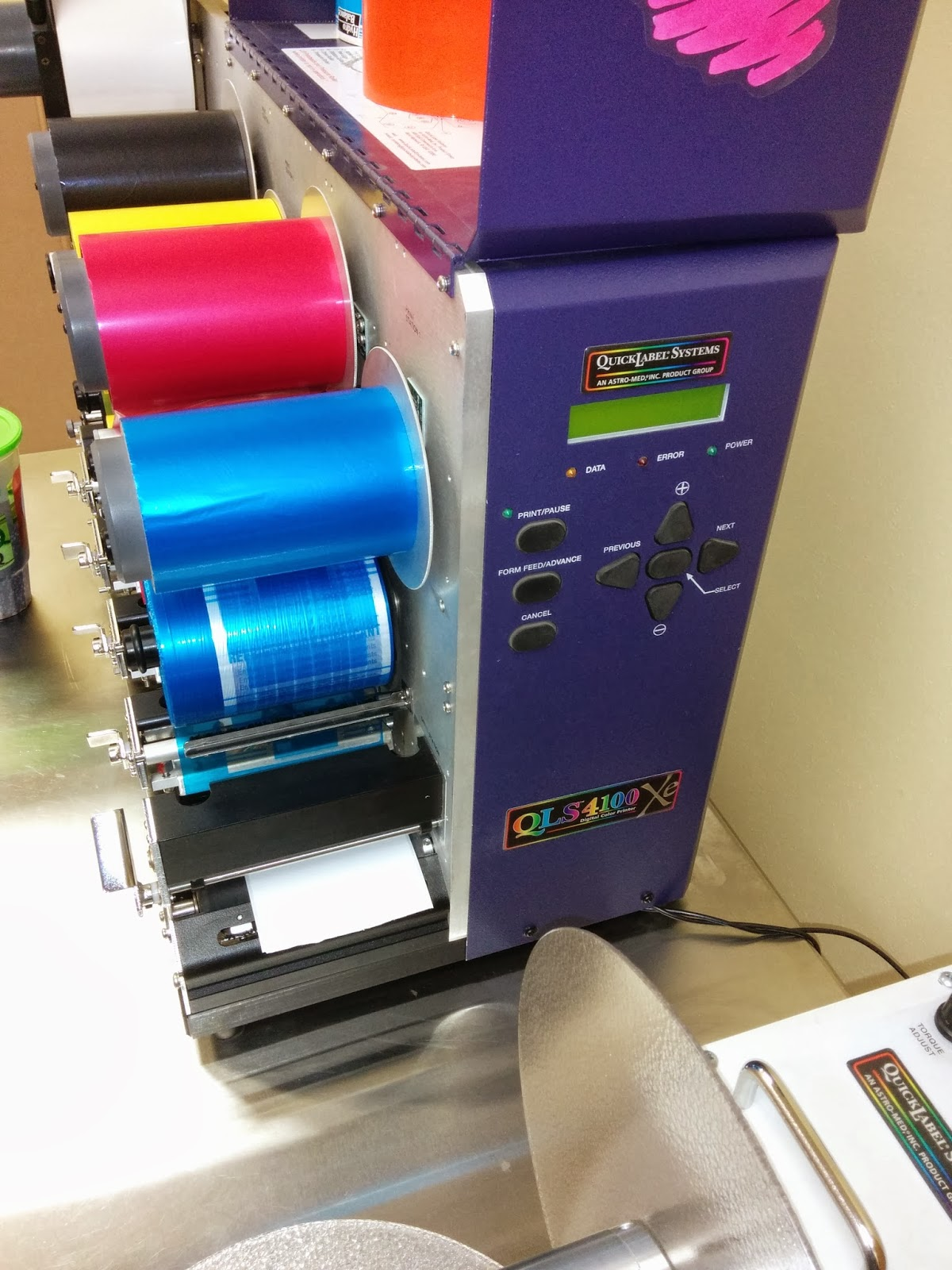 Thermal Transfer Color Printer