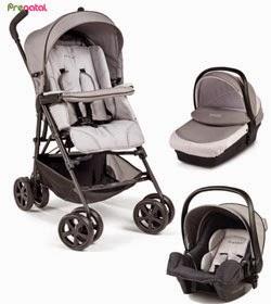 Prénatal conjunto de bebé gris oscuro
