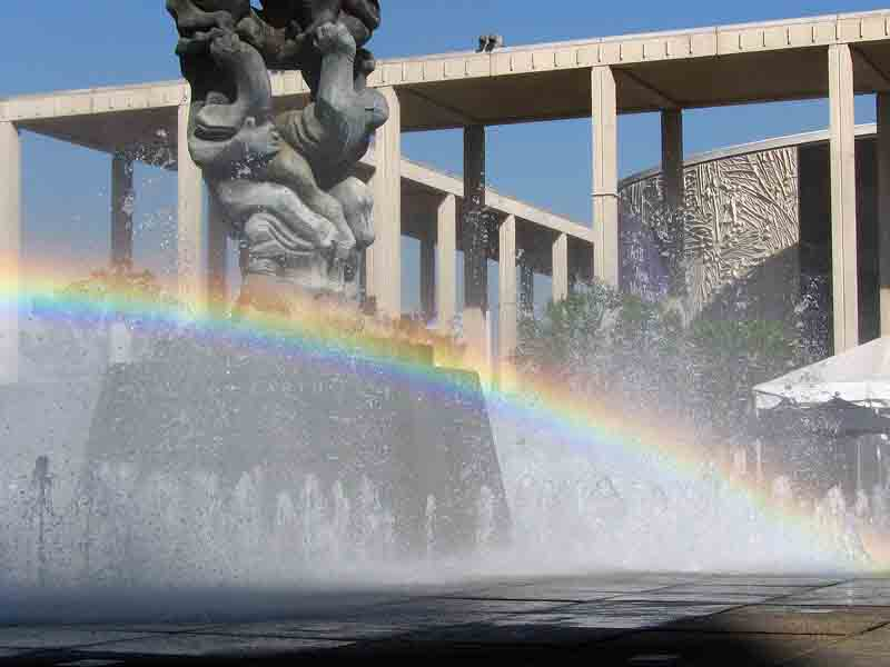 For Los Angeles Composers the end of the rainbow is the Music Center