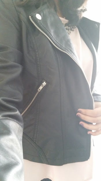 Primark Black Leather Jacket