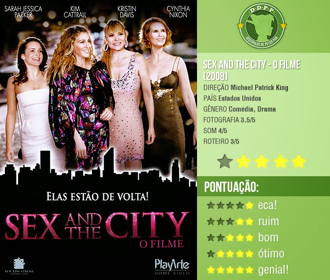 "SEX AND THE CITY - O FILME, ""SEX AND THE CITY"" (2008)"