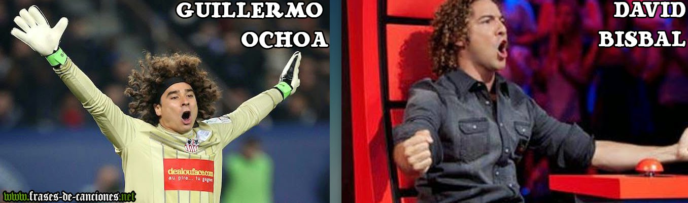 Separados al nacer : Guillermo Ochoa vs David Bisbal