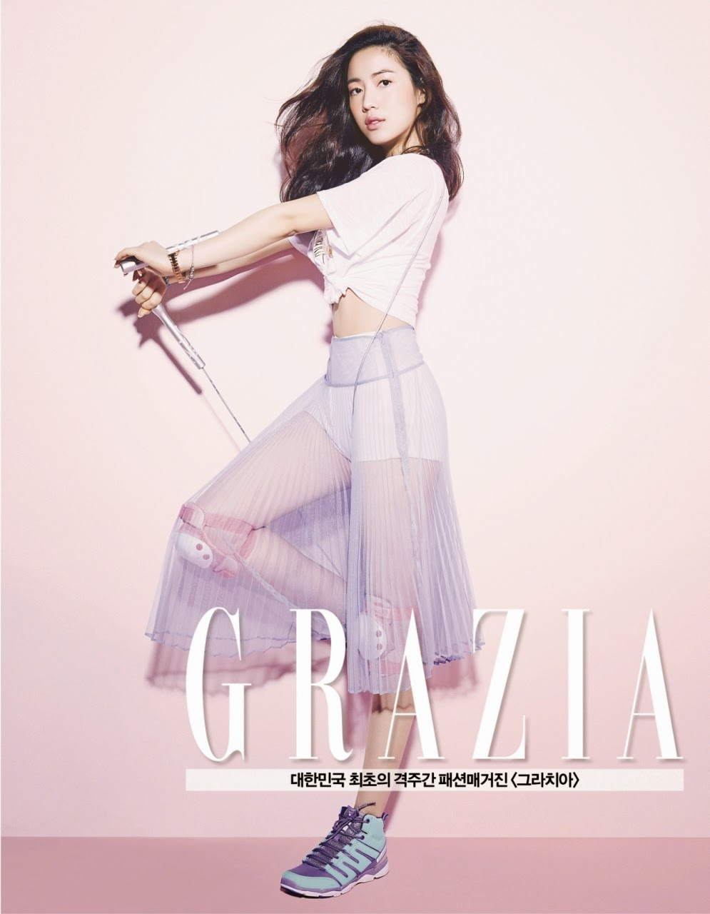 Hwayoung - Grazia Magazine May Issue 2014