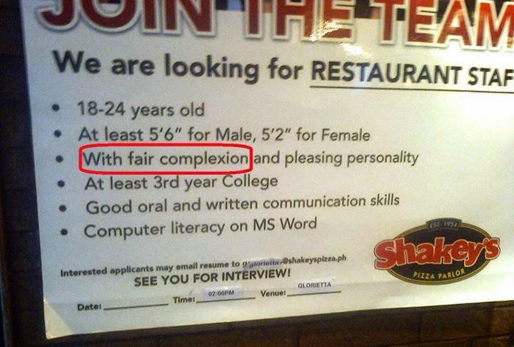 Shakey's Job Posting
