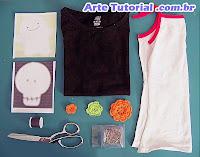 Como consertar camisa furada ou manchada