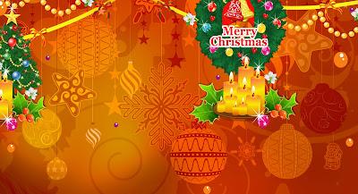 Merry Christmas muy adornado