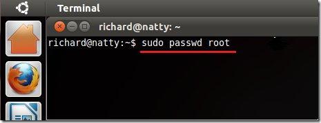 شرح الدخول الى اوبنتو عن طريق المستخدم الجذري root