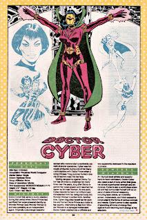 Doctora Cyber (ficha dc comics)