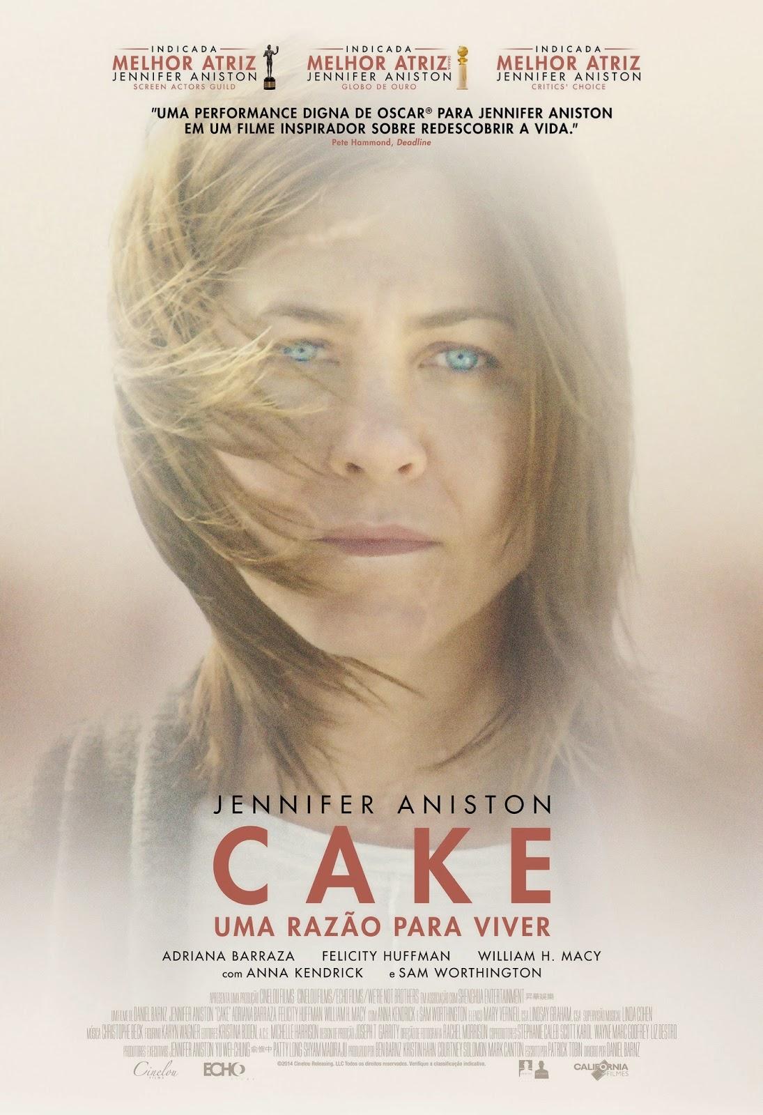 Cake: Uma Razão para Viver – Dublado (2014)