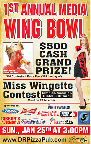 Media's First Annual Wing Bowl