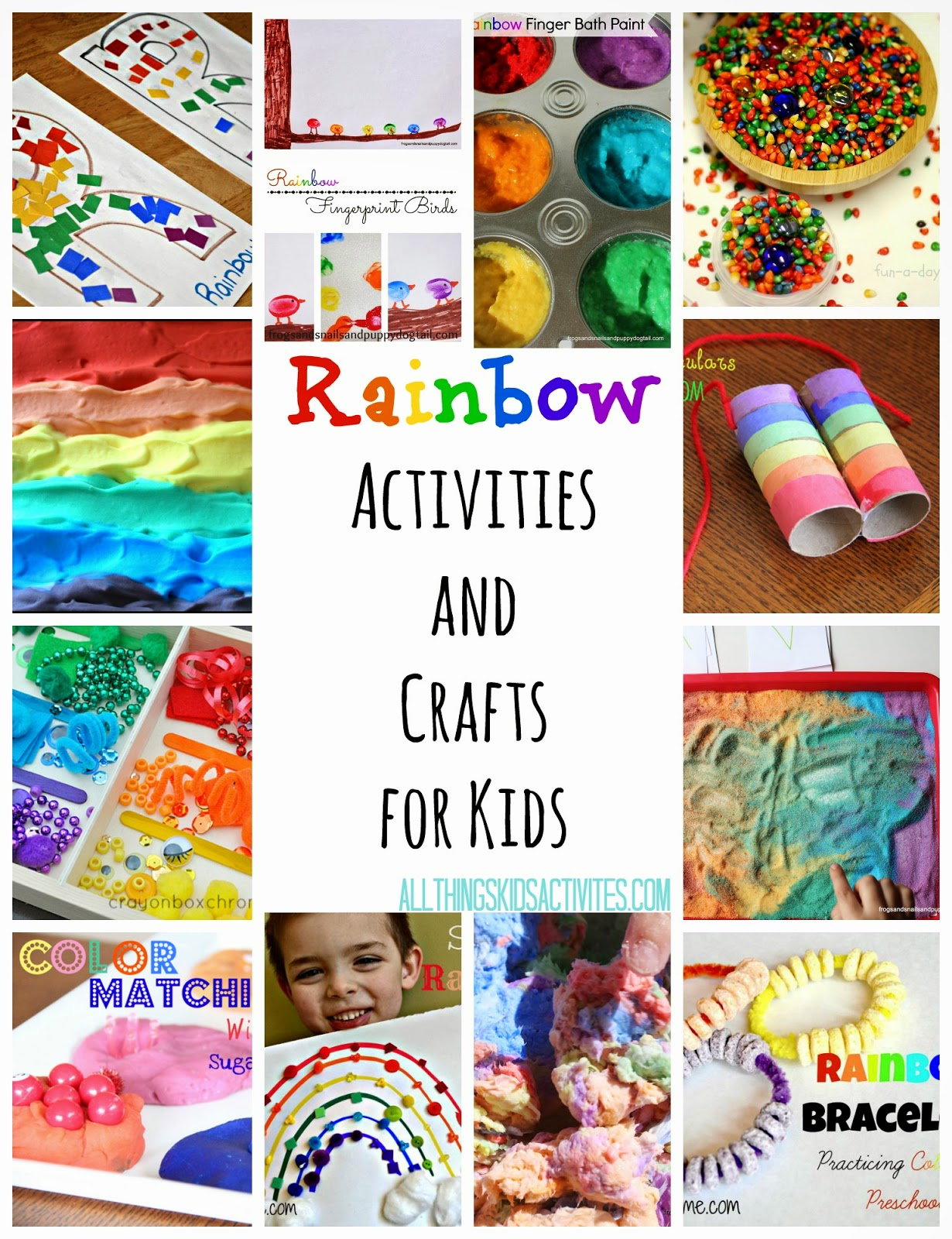 Rainbow Activities and Crafts for Kids