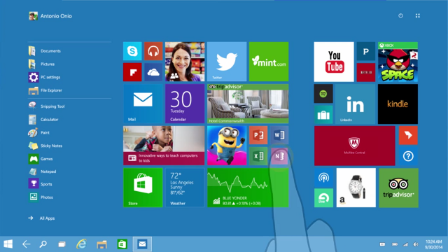 Windows 10 Touch