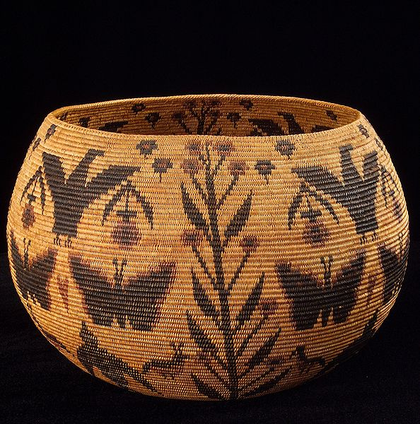 Native American Basket Weaving Instructions : An elephant a day no pine needle basketry