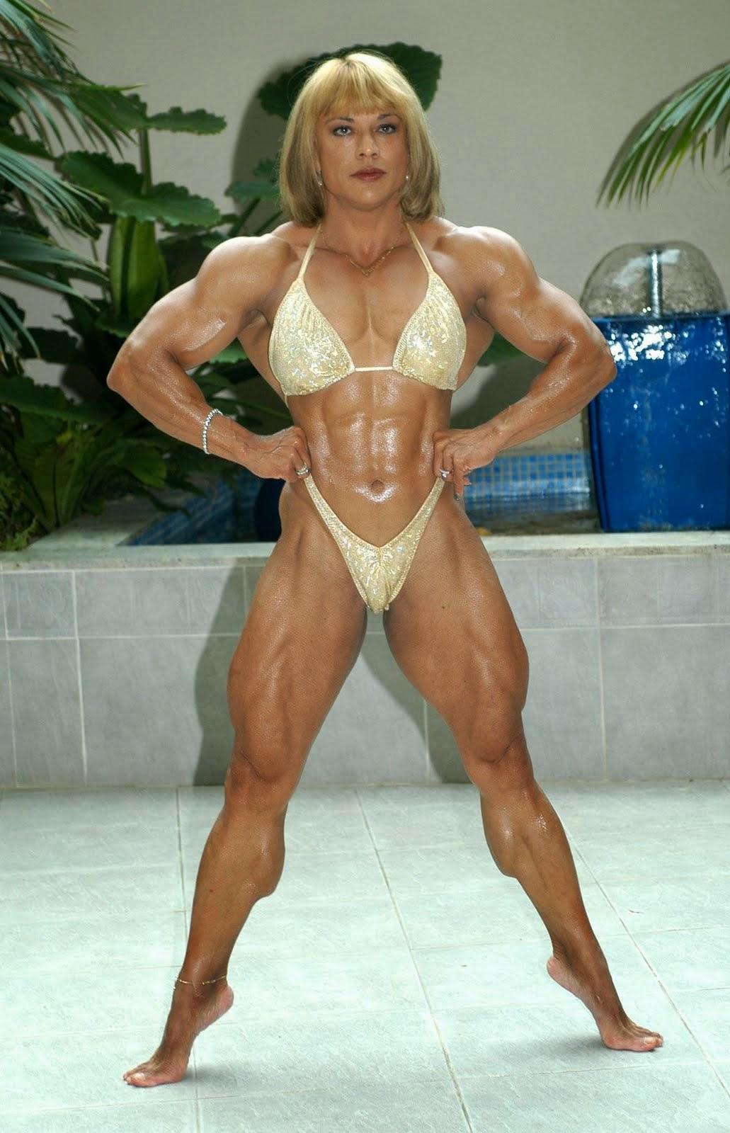 Female Bodybuilding - Juliette Bergmann