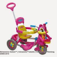 Sepeda Roda Tiga ROYAL RY8782 Baby Joy TUPAI