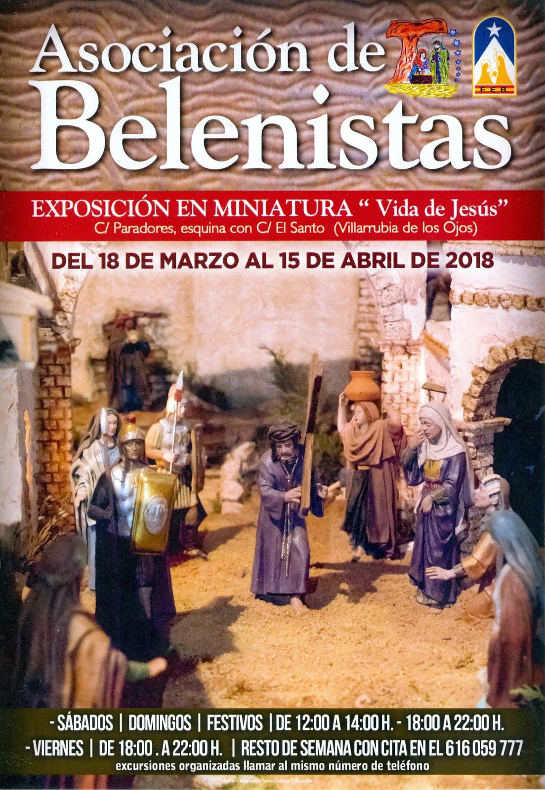 """EXPOSICIÓN EN MINIATURA """"Vida de Jesús"""""""