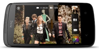 HTC Desire 500, Smartphone Dual SIM Quad Core Kamera 8MP