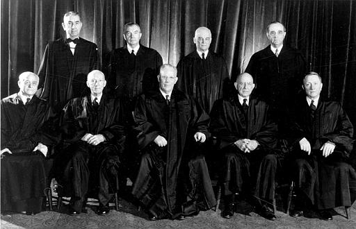 the warren court The warren court, 1953-1969 the re-argument of school segregation proceeded on schedule in december with 51 amicus curiae, friend of the court, briefs—a record.