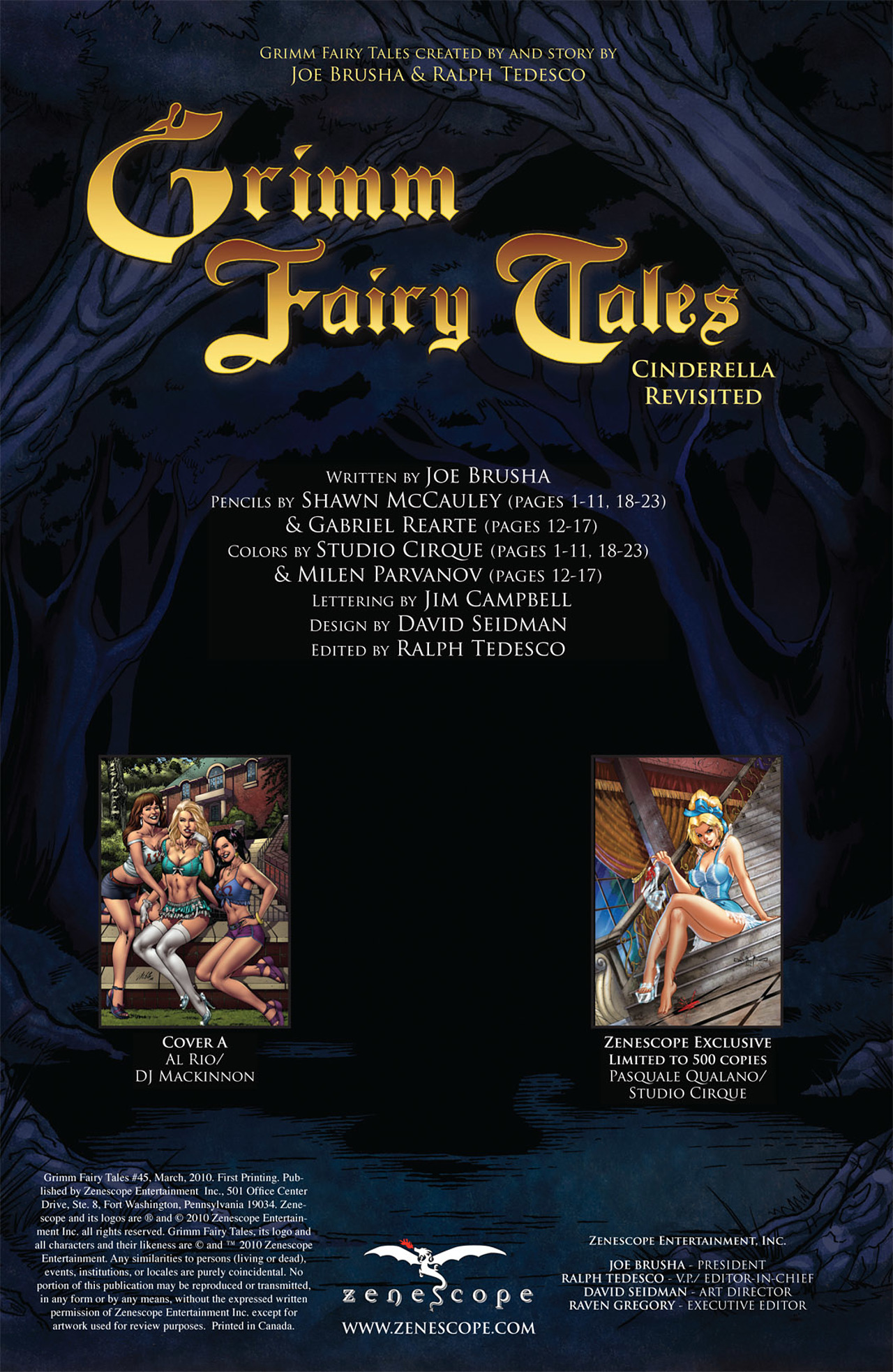 Grimm Fairy Tales (2005) Issue #45 #48 - English 2