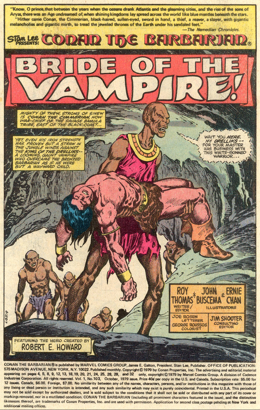 Conan the Barbarian (1970) Issue #103 #115 - English 2