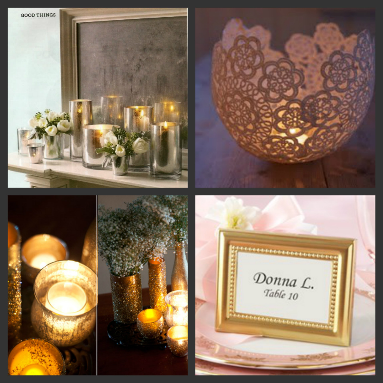 Weddings Are Fun Blog DIY Upscale Wedding Table Decorations